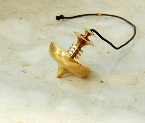 Mer-Isis large pendulum dowsing pendulum brass pendulum
