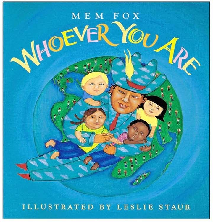 "A celebration of the worlds diverse cultures, this story reflects the message that no matter where we come from, within our hearts we are all one. Open its pages to reveal colorful, folk art style oil paintings of children from all corners of the globe.6.6""w x .7""d x 9.5""h Written By Mem Fox Illustrated by Leslie Staub Houghton Mifflin Harcourt; September 2006, 32 pages  #ChildrensBooks  #Diversity  #Ad"