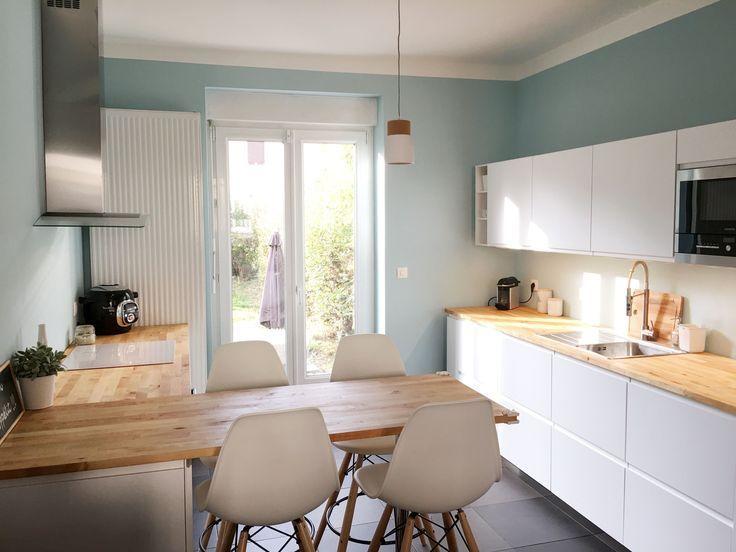 Ikea Kochstube Fawn Voxtorp Beige Kuche Voxtorp Kitchen Remodel Modern Kitchen Ikea Kitchen