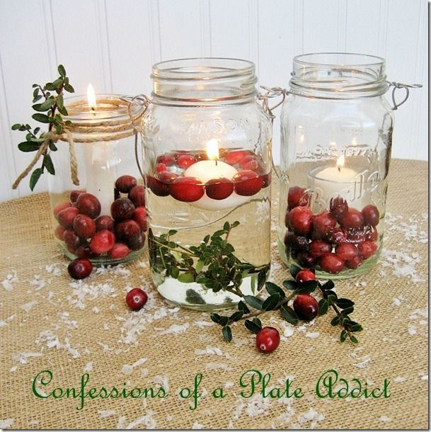 Fun And Easy Mason Jar Christmas Candles Christmas Christmas