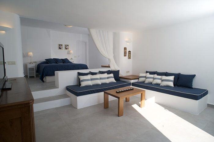 Skiron Villa Living Room