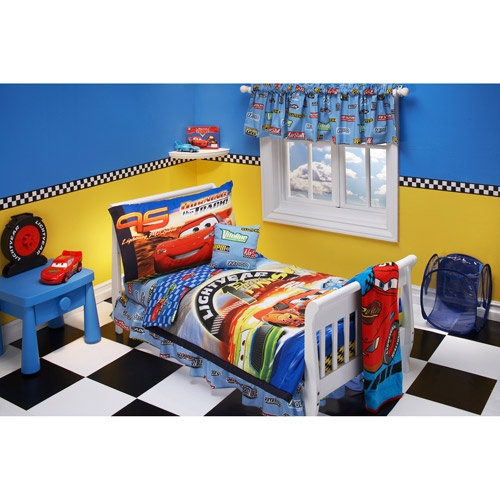 Boys Disney Pixar Cars  Piece Toddler Bedding Set