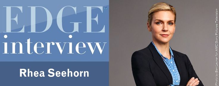 EDGE Magazine | The Natural Geographic Issue - EDGE Interview Rhea Seehorn