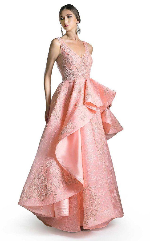 1fd46b9514c5 Andrea and Leo 5325 Designer Gowns, Red Carpet Dresses, Marchesa, Hemline,  Evening