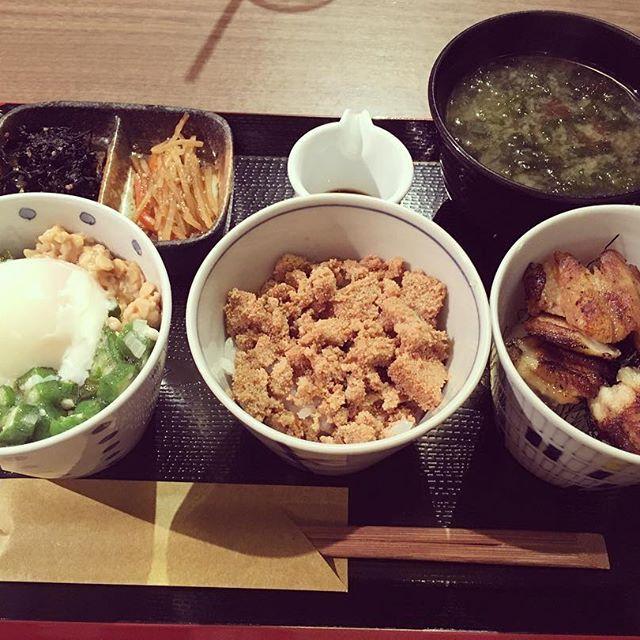 2016/11/14 22:14:13 boldyrevaaaaa Donburi is always good  ・ ・ ・ #Japan #Tokyo #food #japanese #japanesefood #rice #bowl #loveit #healthyfood #東京 #代官山 #丼 #うまい #健康 #夕ご飯 #ハッピー #モデル #撮影 代官山駅 Daikan-yama Station #健康
