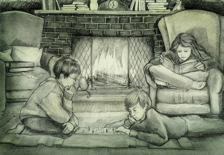 Harry, Ron, and Hermione by Harry-Potter-FanClub.deviantart.com on @DeviantArt