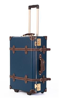 Founded by an Englishman, Globe-Trotter produces bags used by British royalty, including the Queen. Now with new, sleek wheels.