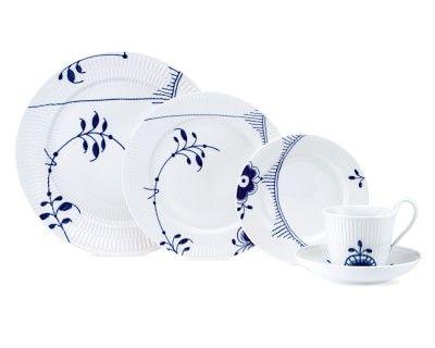 Royal Copenhagen Blue Fluted Mega Dinnerware #williamssonoma