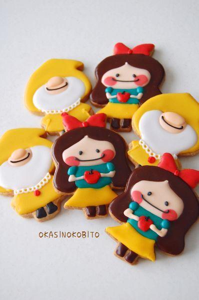 Cute Snow WhiteCookies