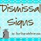These detective themed dismissal signs are adorable and editable so you can customize them for your school's bus numbers, after school care options...