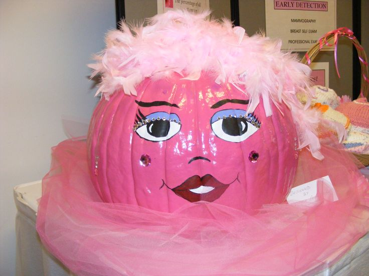 breast cancer awareness pumpkin my kodak moments. Black Bedroom Furniture Sets. Home Design Ideas