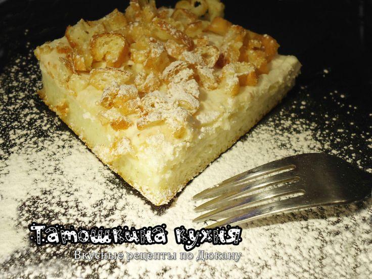 Бисквитный торт «Кучерявый» (без отрубей) по Дюкану