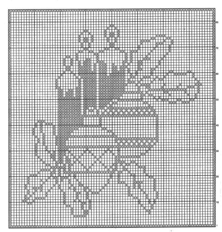 Mille idee perNatale: Candele e decorazioni nel centro a filet.