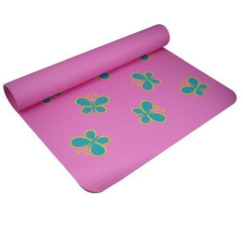 Our best-selling mat is now in special designs and a size that is just for kids! Our new fun printed Kids Yoga Mats are perfect for children to bring with them to class or school, or even just to use at home. Choose from three different bright designs: Orange with Suns, Pink with Butterflies, or...