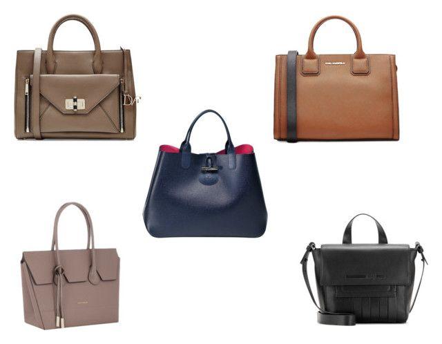 Best work handbags under 500 euros by the925editor on Polyvore featuring Diane Von Furstenberg and Karl Lagerfeld