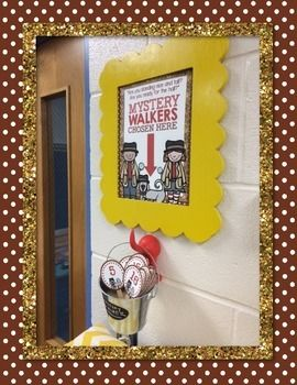 MYSTERY WALKER TOOL KIT - TeachersPayTeachers.com