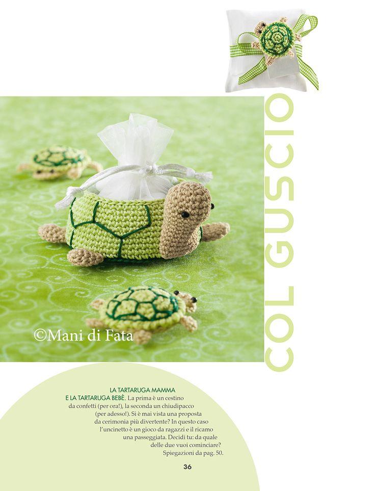 BOMBONIERE ALL'UNCINETTO 4 novità…..tantissime idee da realizzare per tutte le vostre cerimonie….. http://www.manidifata.it/bomboniere-all-uncinetto-4-c8bu4-html.html