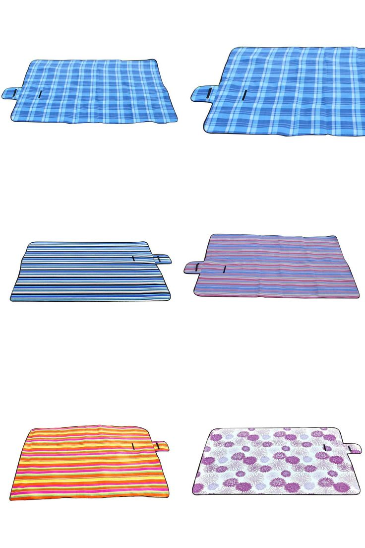 [Visit to Buy] Extra Large Picnic Blanket Rug Mat Waterproof Rug Travel Camping Beach Kids Baby 5 Colors #Advertisement
