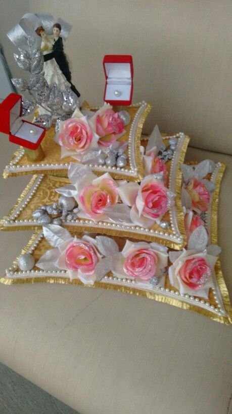 Ring tray Vrishti creations marriage packing Ph. 9669207565 , 9826116090