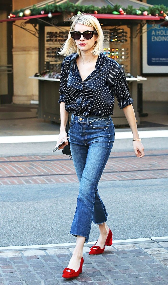 Cropped Flares Are the Skinny Jeans of 2016: Here's Proof  via @WhoWhatWear