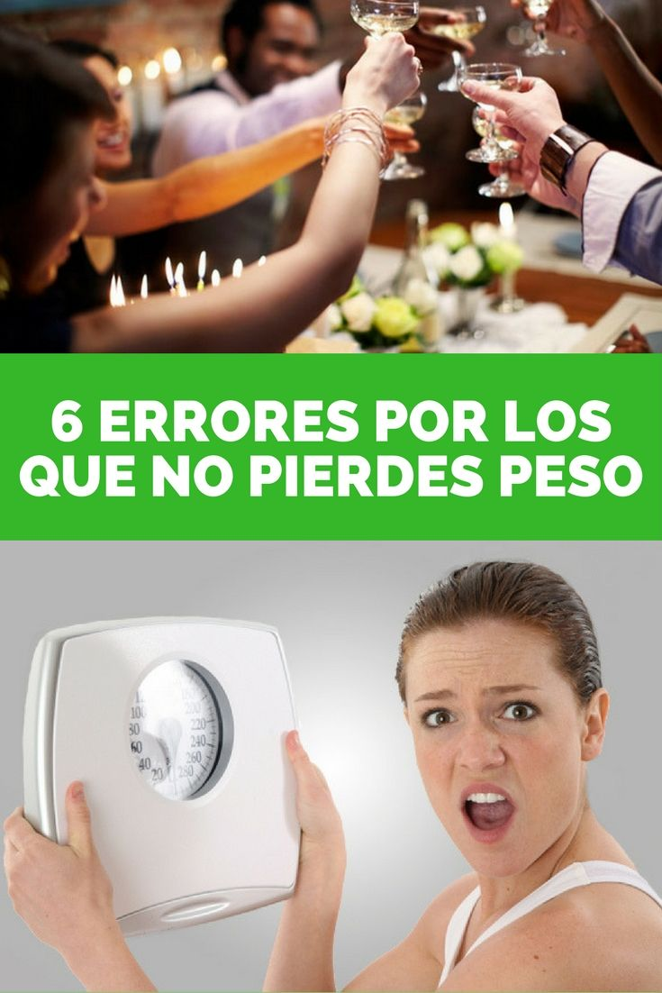 6 Errores por los que no pierdes peso [+VIDEO] | Runfitners