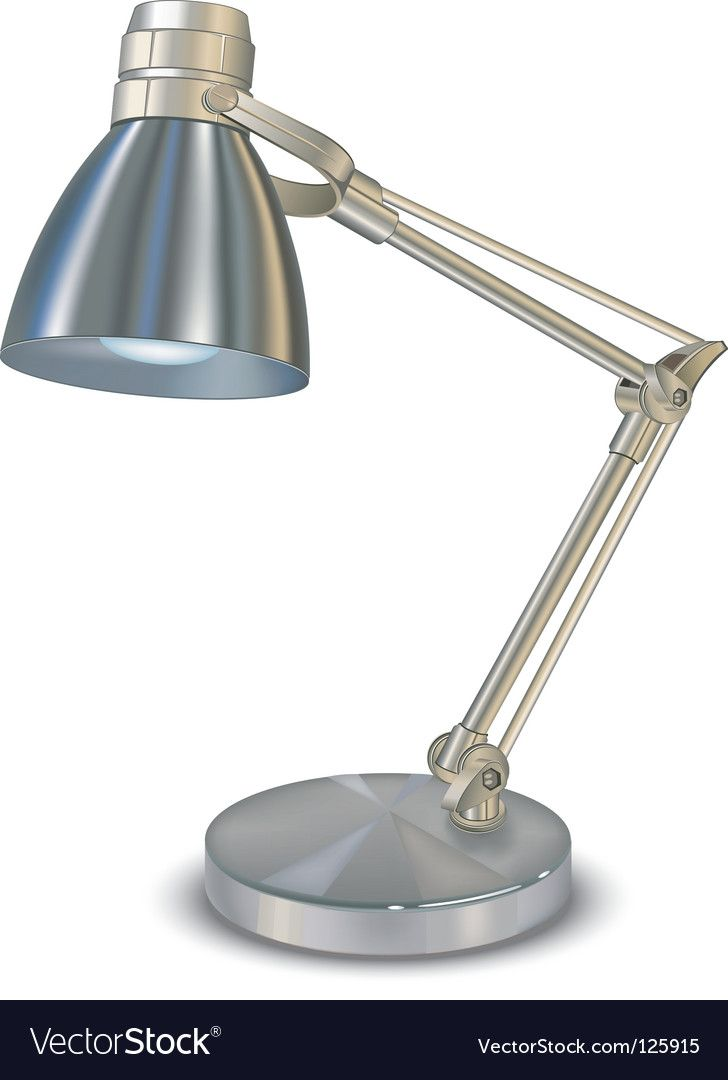 Lamp Vector Image On Vectorstock Lamp Desk Lamp Vector