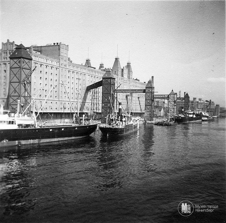 Königsberg Pr. Hafenanlagen