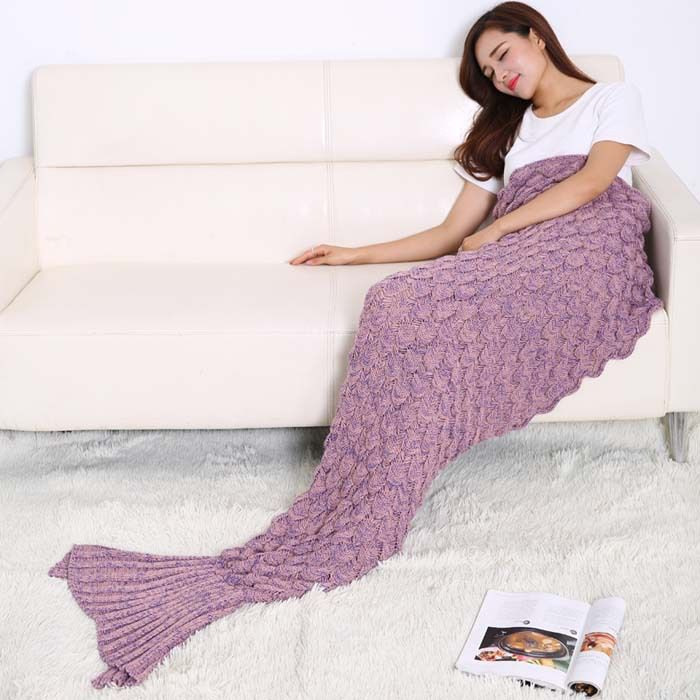 Find More Blanket & Swaddling Information about The New Blanket Scales Mermaid Fish Tail Blanket Blanket Knitted Blanket Sofa Air Conditioning Blanket,High Quality air conditioned blanket,China blanket knitted Suppliers, Cheap mermaid tail blanket from LOVEE YOU BABY Store on Aliexpress.com
