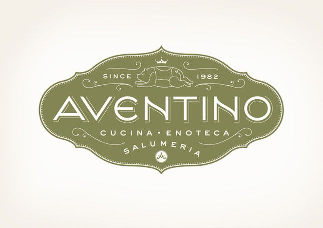 For this Texas salumeria (an Italian restaurant specializing in prosciutto, salami, and cured meats), an elegant yet playful emblem was applied to all aspects of the overall identity.