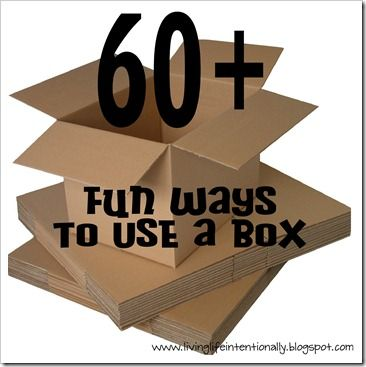 60  {FUN} Ways to Use a Box!