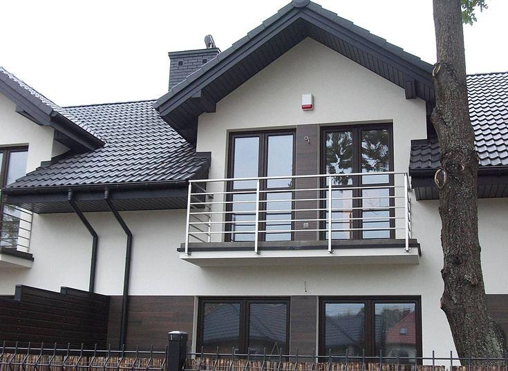 Balustrada zewn�trzna, stal nierdzewna � Komor�w