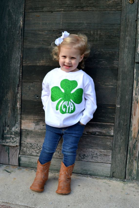 Toddler St. Patrick's Day Shirt with by embellishboutiquellc