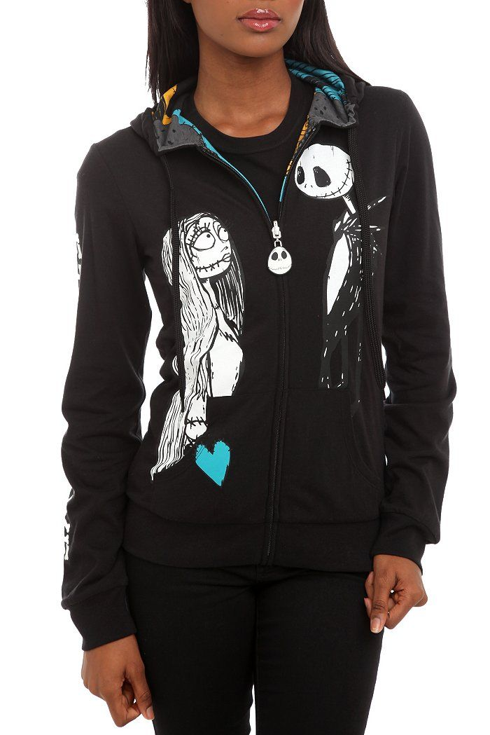 The Nightmare Before Christmas hoodie, I need this NOW!!!!