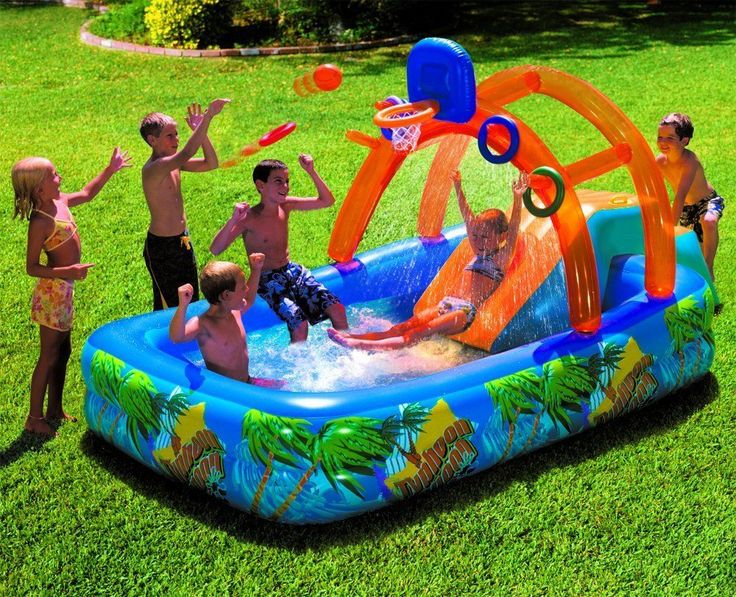 Wild Backyard Party : Explore Kid Pool, Hoop Backyards, and more!