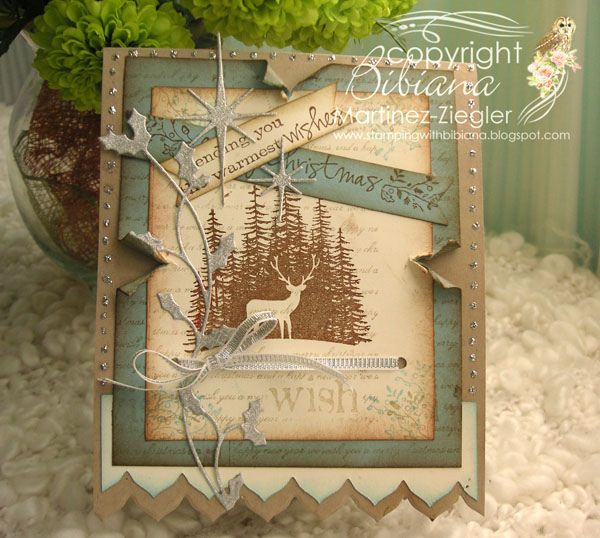 Shabby Chic ? Vintage Christmas card   Flickr - Photo Sharing!