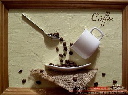 Создаём прекрасные поделки из кофе. Результат приятно шокирует. | Самая актуальная информация по рукоделию - на svoimi-rukami-club.ru