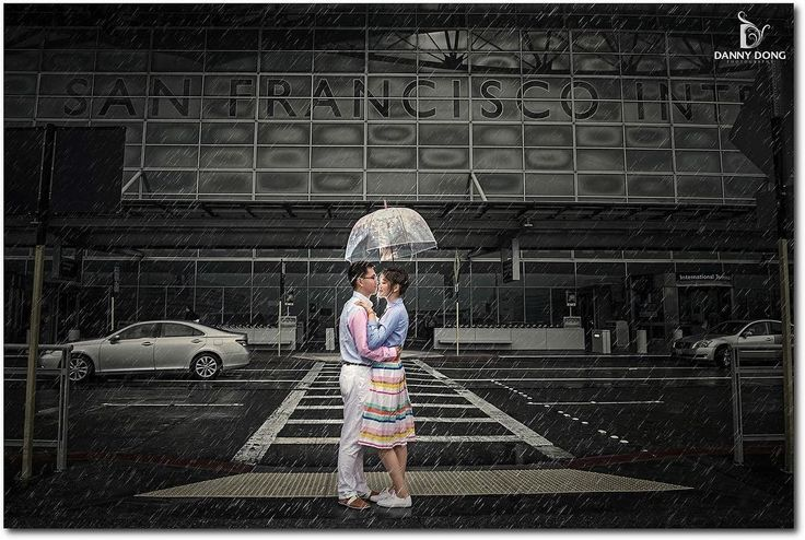 Danny dong on instagram an engagement photo at sfo