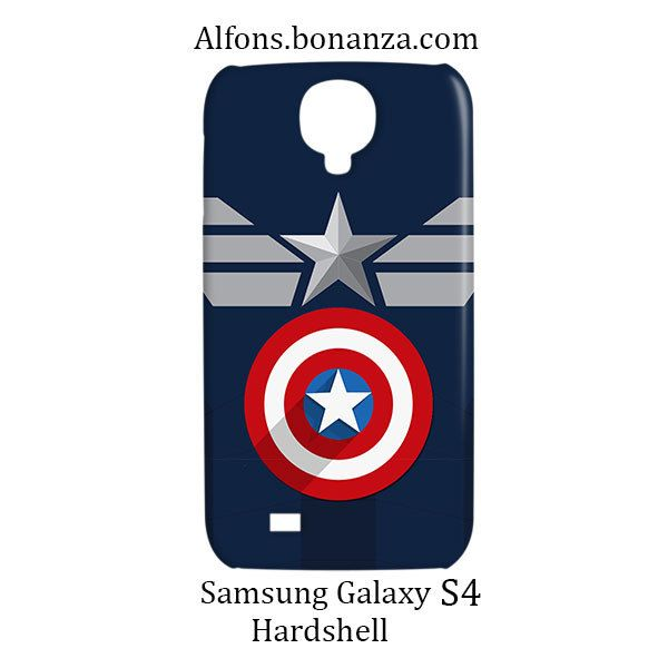Clothes Captain America Samsung Galaxy S4 S IV Hardshell Case