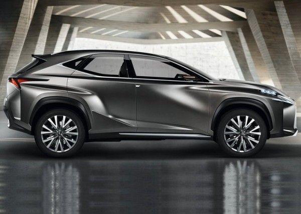 Lexus LF NX Picture 600x427 2013 Lexus LF NX Concept Reviews