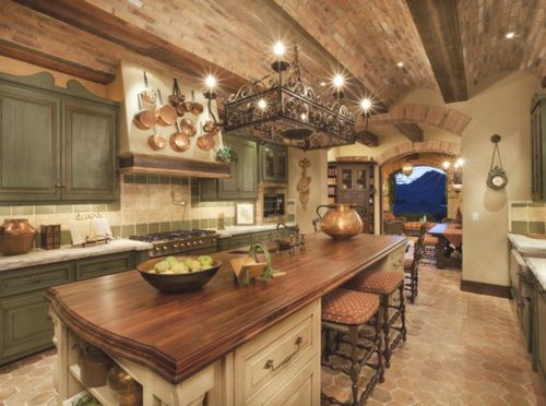 love this: Cabinets, Dreams Houses, Tuscan Kitchens, Kitchens Design, Dreams Kitchens, Kitchens Ideas, Rustic Kitchens, Islands, Tuscan Style