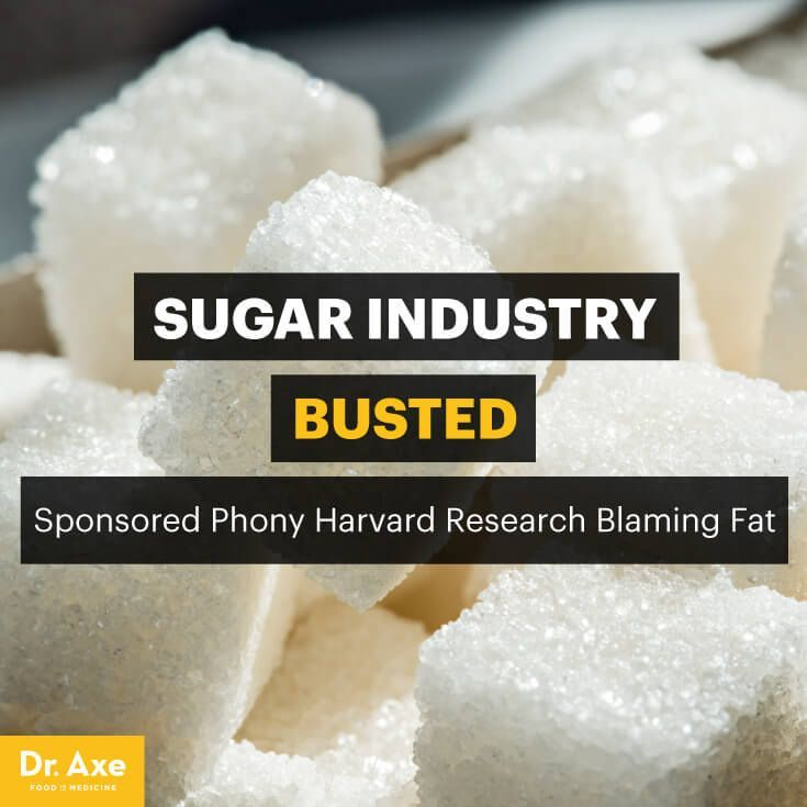 Sugar industry scandal - Dr. Axe http://www.DrAxe.com #health #holistic #natural
