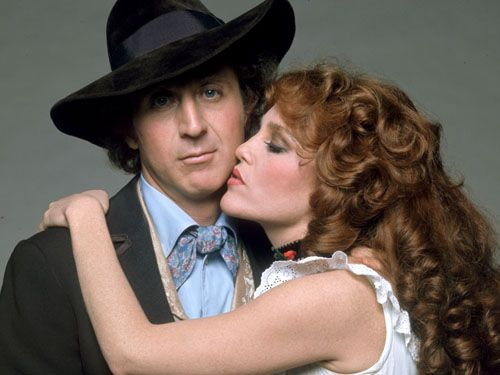 Madeline Kahn and love of my life Gene Wilder (weird but a childhood crush...I was born in the wrong generation)