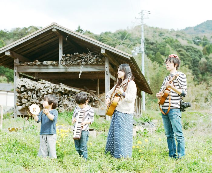 this family is too cute  Photographer Hideaki Hamada