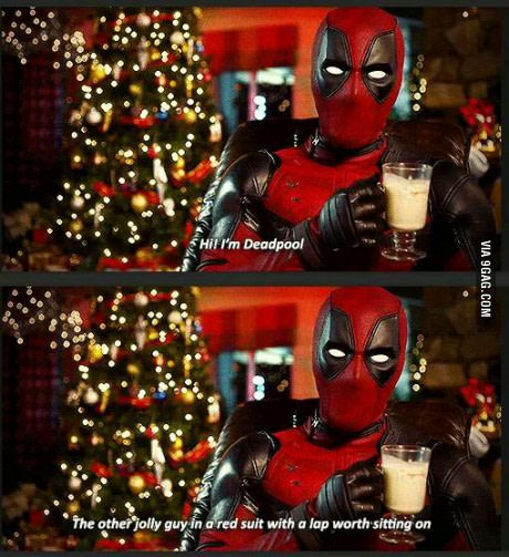 Just Deadpool being Deadpool