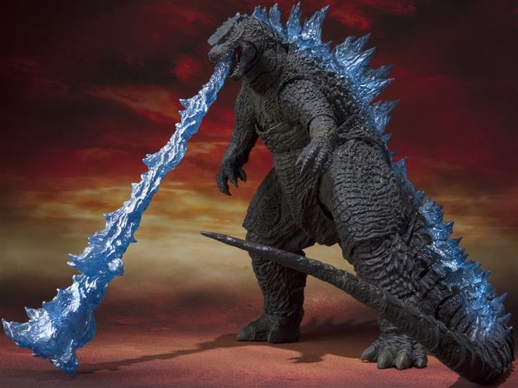 S.H. MonsterArts - Godzilla 2014 Spitfire Edition - Godzilla Figures