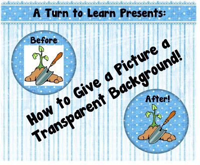 How to Give a Picture a Transparent Background