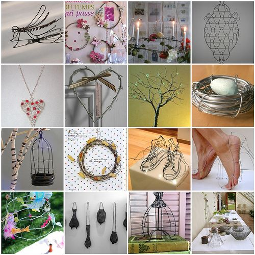 Inspiration for crafting with wire by memmu, via Flickr