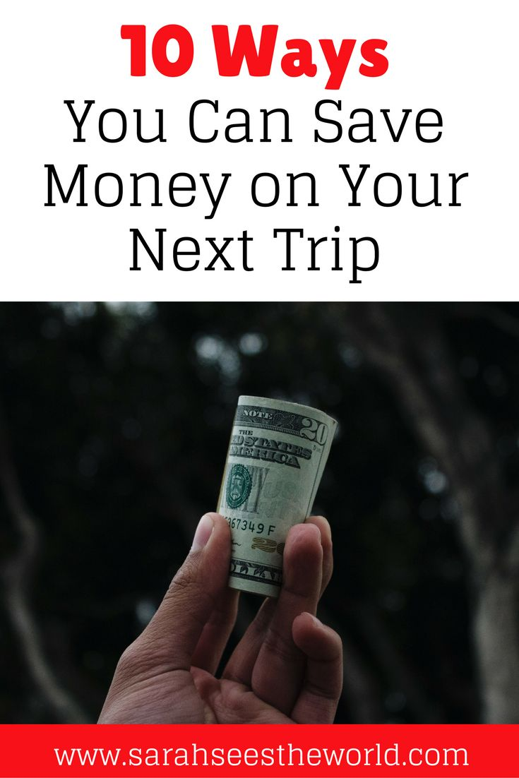 Traveling doesn't have to be expensive. We share our top 10 ways to save money on your next trip. You'll definitely want to save these budget travel tips to your travel board so you can find them before your next trip.