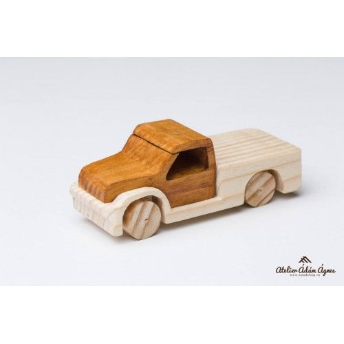 Wooden pick-up truck #playwithwoodencar