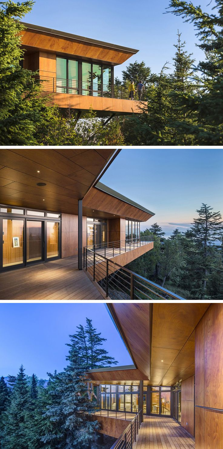 Architecture Firm Workshop Ad Have Designed The Golden View Residence In Anchorage Alaska